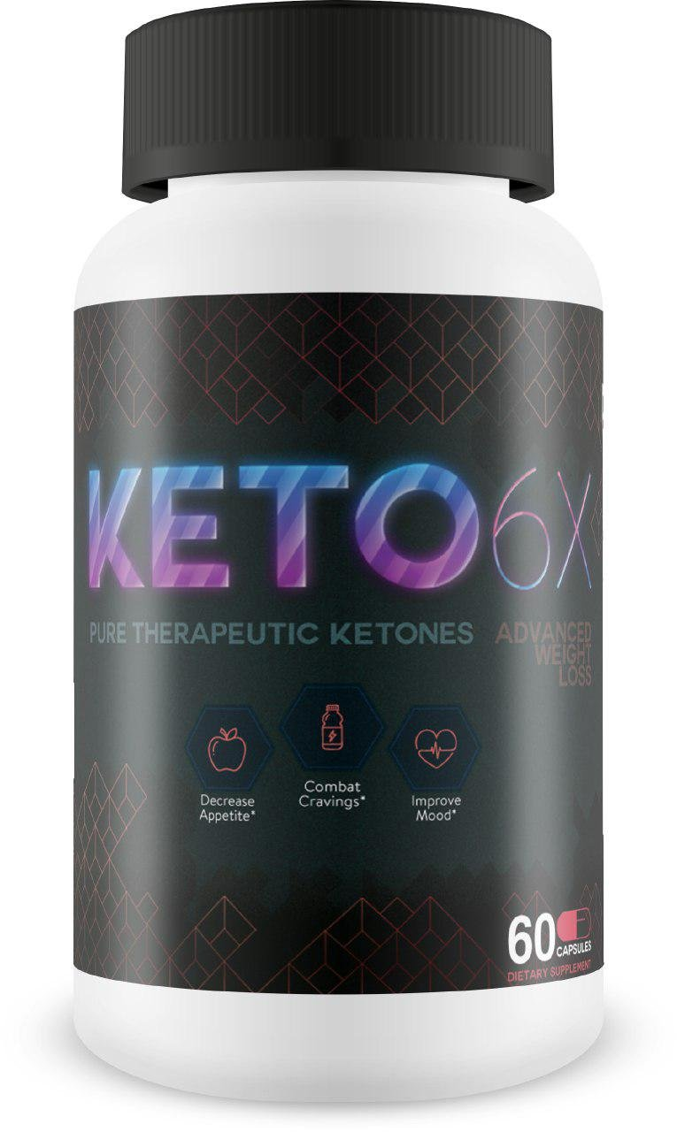 KETO 6X Therapeutic Ketones - 30 Day Ketosis Diet - Nutritional Fat Loss - Induce Ketosis Faster - All Natural - Gluten Free - Burn Fat