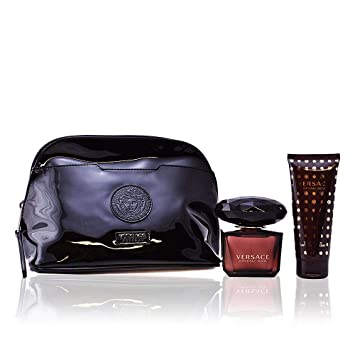 76eb32f215 Amazon.com   Versace Crystal Noir 3 Piece Gift Set for Women   Beauty