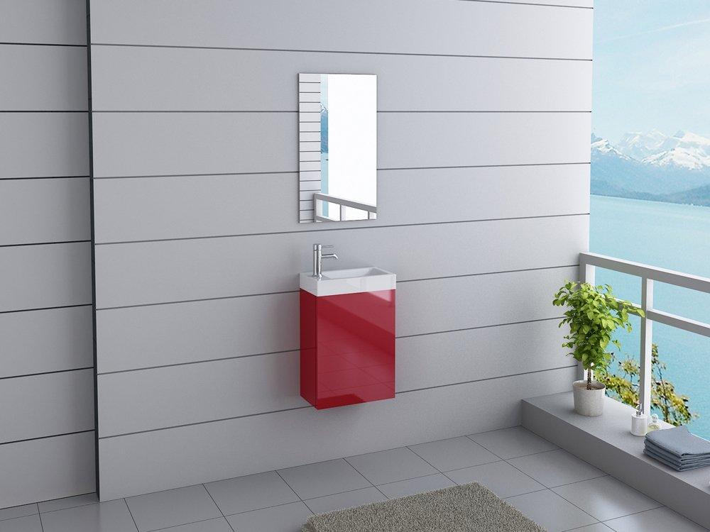 Badmöbel California Gäste WC Waschtisch Set 11 moderne Farben ...