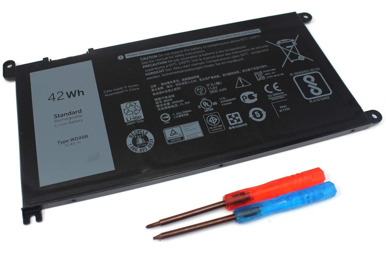 Bateria 42wh Wdx0r Para Dell Inspiron 13-5378 13-7368 14-7460 15-5568 5567 7560 7569 17-5770 Inspiron 13 5379 Inspiron 1
