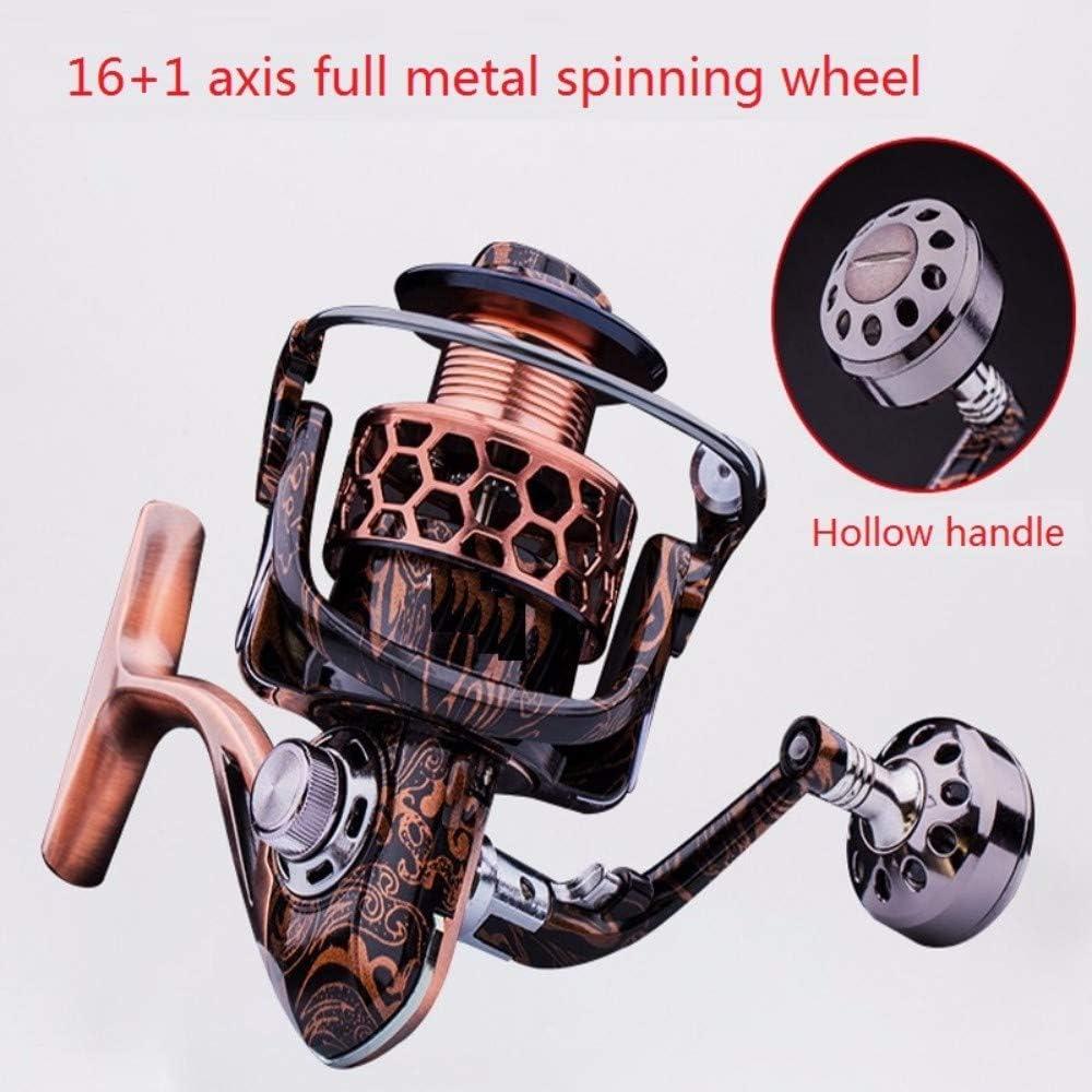 De precisión de metal Spinning Wheel, pesca de aparejos de pesca de mar, pesca de rueda, rueda, rueda mar Polo,Dos mil: Amazon.es: Bricolaje y herramientas