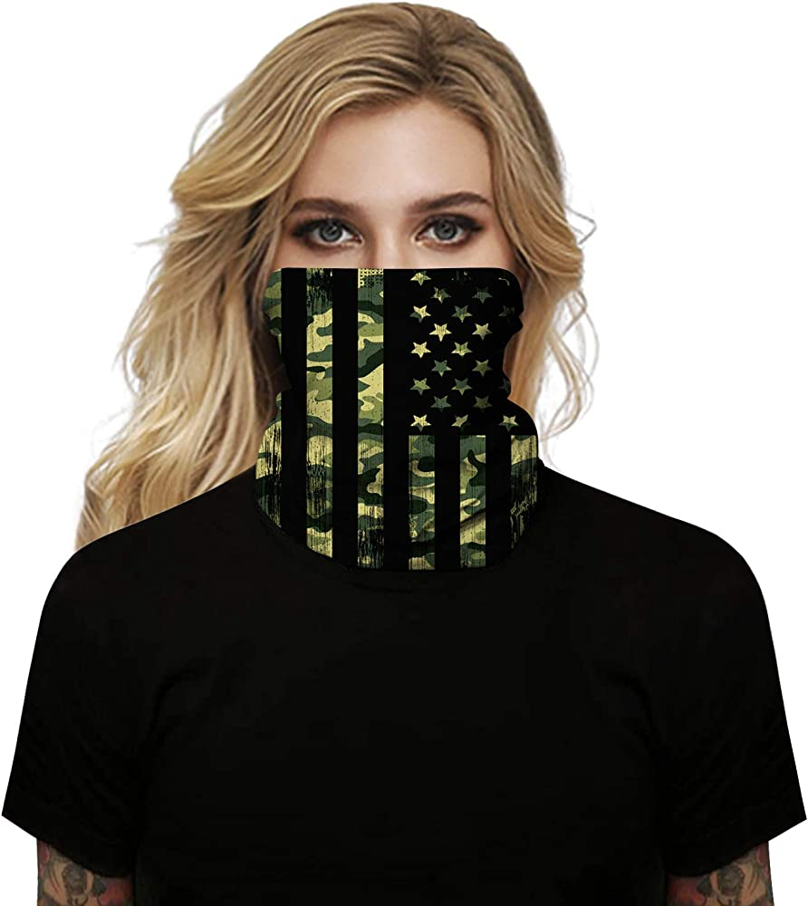 Seamless Headband for Dust Multifunctional Scarf Outdoor Shield