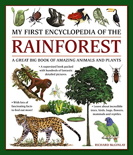 My First Encylopedia of the Rainforest: A Great Big Book Of Amazing Animals And Plants