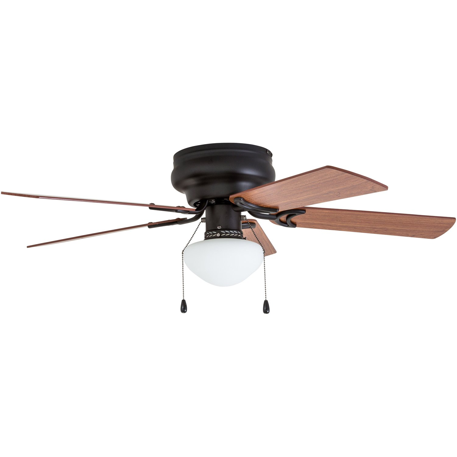 Prominence Home 50860 Alvina LED Globe Light Hugger/Low Profile Ceiling Fan, 42 inches, Bronze by Prominence Home (Image #6)