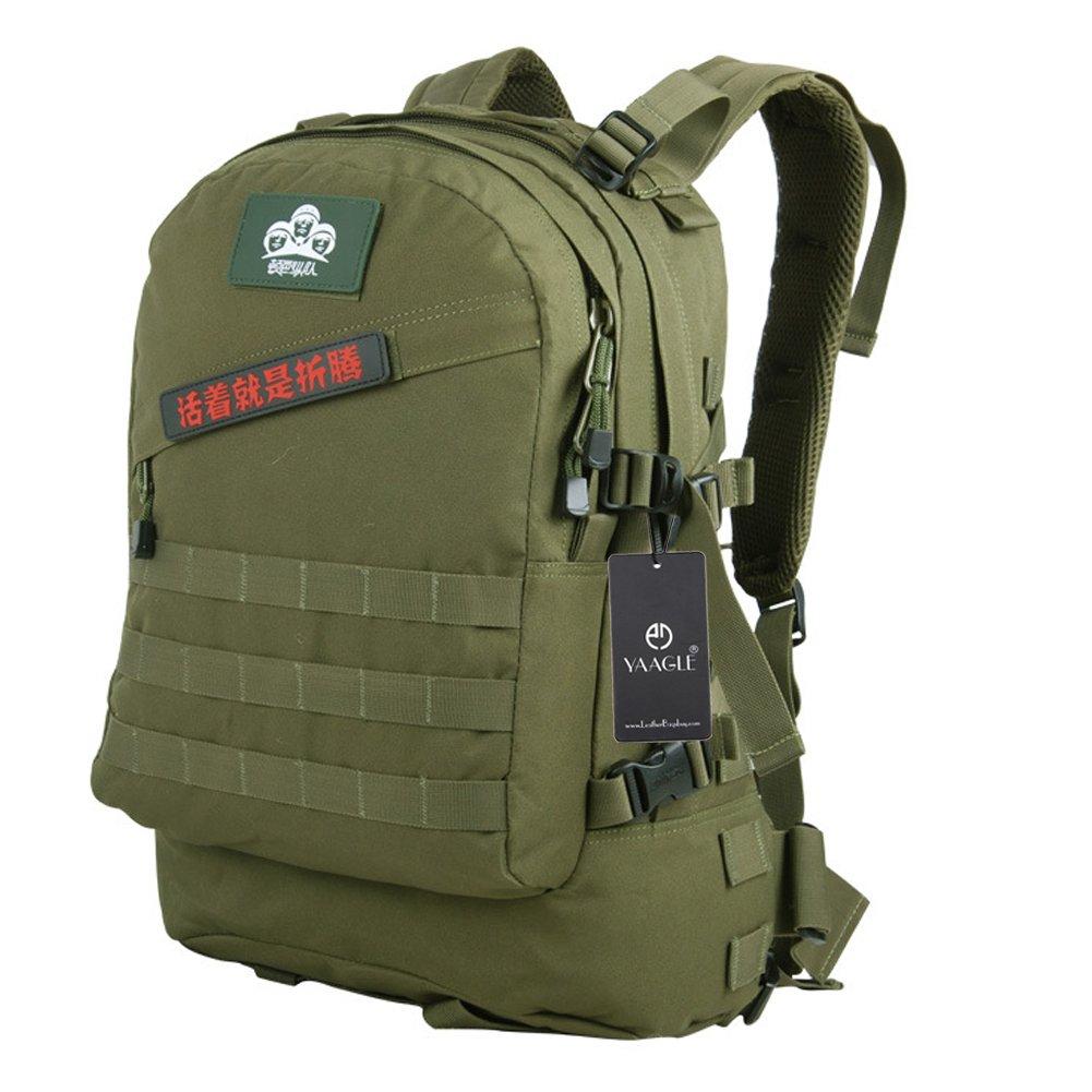 YAAGLE Outdoor Bergsteigen Taschen Oxford Rucksack Fahrradrucksack Armee militärisch Tarnung Schultertasche