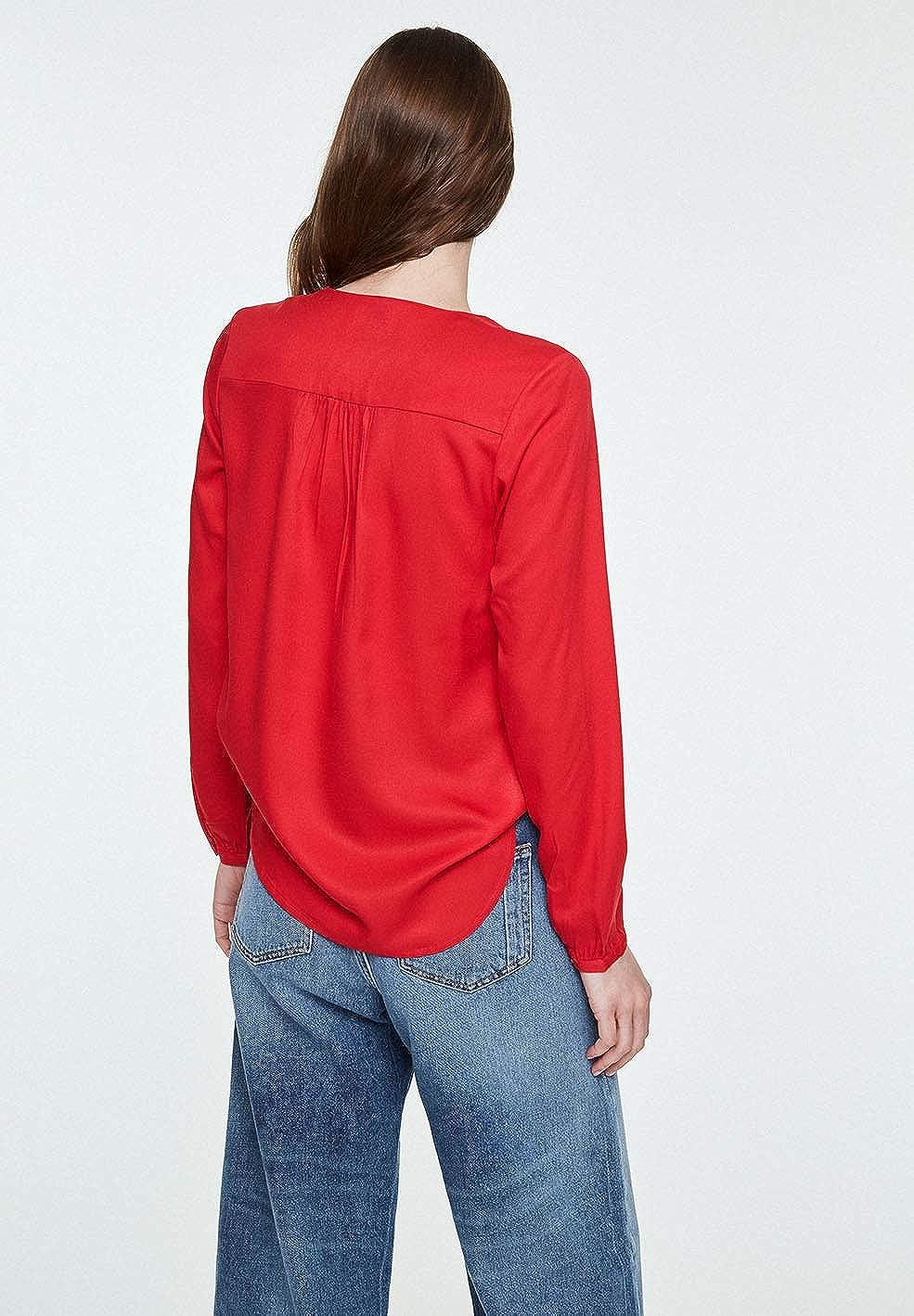 ARMEDANGELS Damen Damen Damen Blause aus LENZING™ ECOVERO™ - FELICITAAS - PETA Approved VEGAN B07N17JD3S Blausen & Tuniken Qualitätskönigin d52346