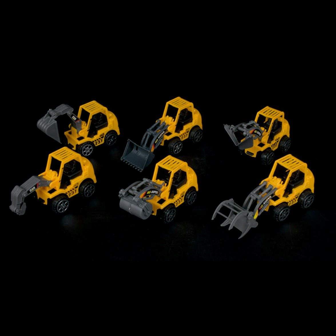 Logicstring Modelo de Juguete para ni/ños Excavadora de veh/ículos de ingenier/ía Regalo para ni/ños Ni/ños Ni/ñas