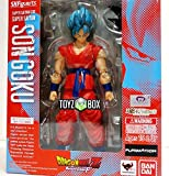 GANSUP Super Saiyan God Goku Dragonball Z DBZ Bandai Action Figure