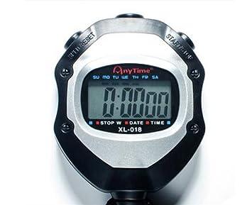 Cuzit Digital LCD Cronógrafo Cronógrafo Temporizador ...