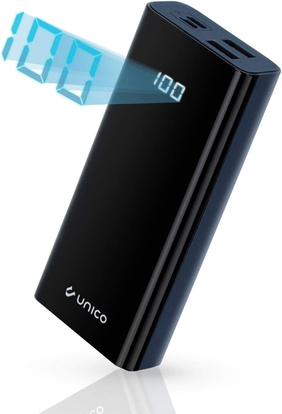 Unico - Power Bank, Batería Externa 10000 mAh, Pantalla Digital ...
