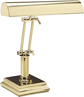 "product image for House of Troy P14-201 Portable Desk/Piano Lamp, 14"", Polished Brass"