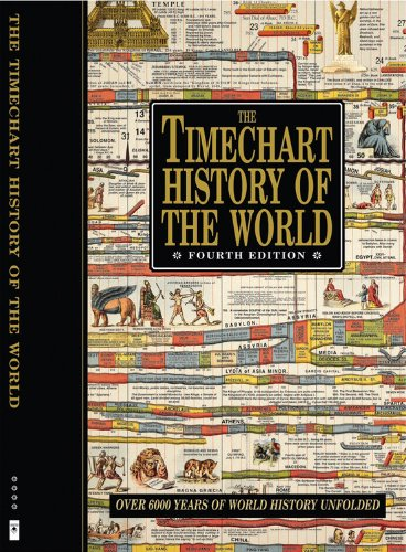 The Timechart History of the World: Over 6000 Years of World History Unfolded (Timechart series)