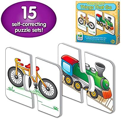 The Learning Journey: My First Match It - Things That Go - 15 Self-Correcting Vehicle Matching Puzzles
