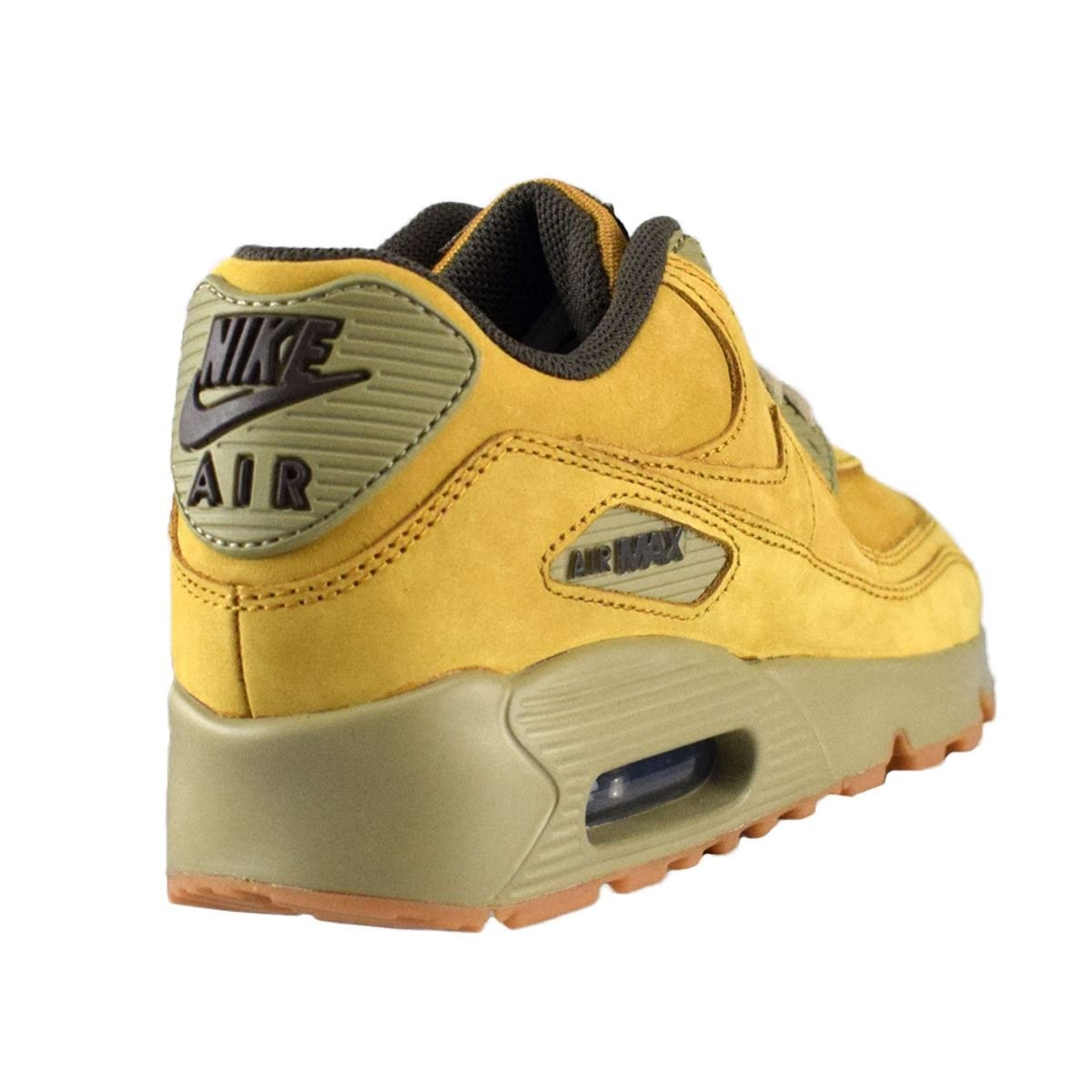 a4bb2092c6 Amazon.com | Nike Youth Air Max 90 Winter Leather Trainers Yellow | Sneakers
