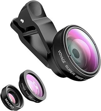 Phone Lens Fisheye Lente Set – Voyage 3 en 1 Ojo de Pez Teléfono ...