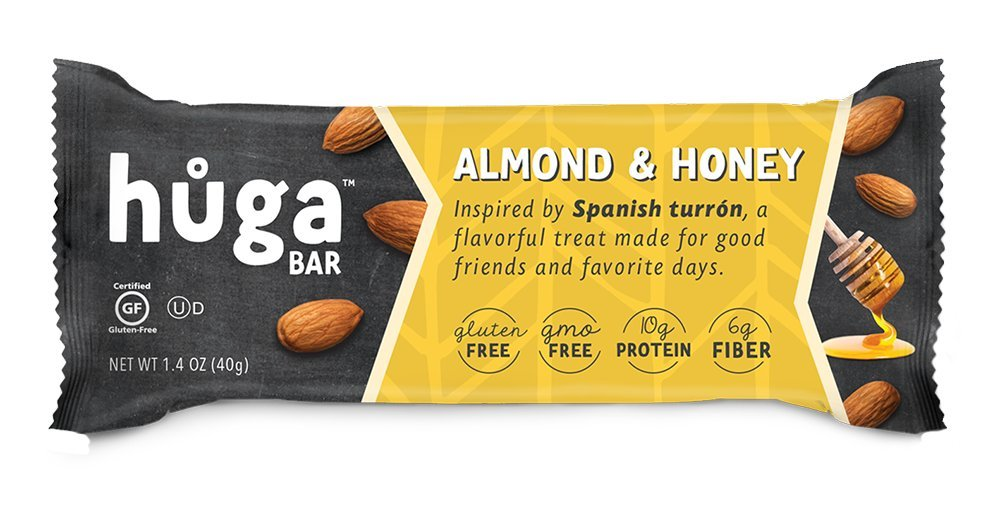 Huga Bar 9-pack (Chocolate & Hazelnut): Amazon.com: Grocery & Gourmet Food