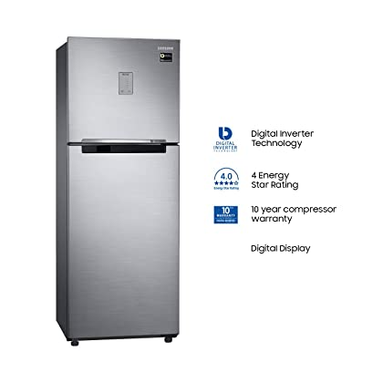 Samsung 253 L 4 Star Frost Free Double Door Refrigerator