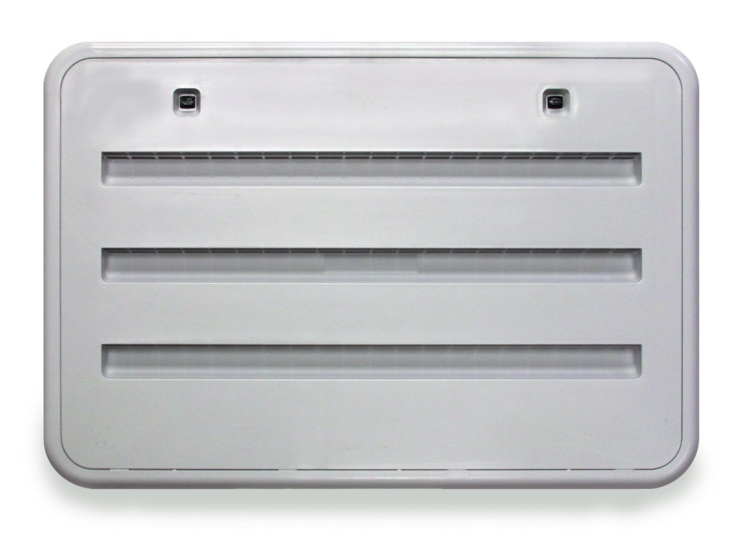 NORCOLD INC Norcold 621156BW RV Trailer Camper Appliances Service Vent Door Plastic Bright White