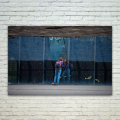 Westlake Art Poster Print Wall Art - Blue Wall - Modern Pict