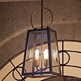 Luxury Vintage Outdoor Pendant Light, Large Size: 26.875''H x 11.25''W, with Farmhouse Style Elements, Olde Bronze Finish, UHP1003 from The Vicenza Collection by Urban Ambiance