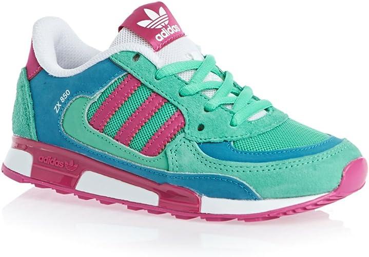 adidas Zapatillas ZX 850 K Multicolor EU 33: Amazon.es: Zapatos y ...