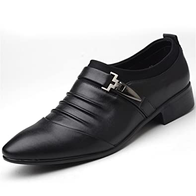 MMM Shoes Mens Shoes Microfibre Spring Fall Formal Shoes Loafers & Slip-ONS Rivet For