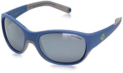 625389f31c69 Image Unavailable. Image not available for. Color: Julbo Luky Junior  Sunglasses - Spectron 3+ - Blue/Gray