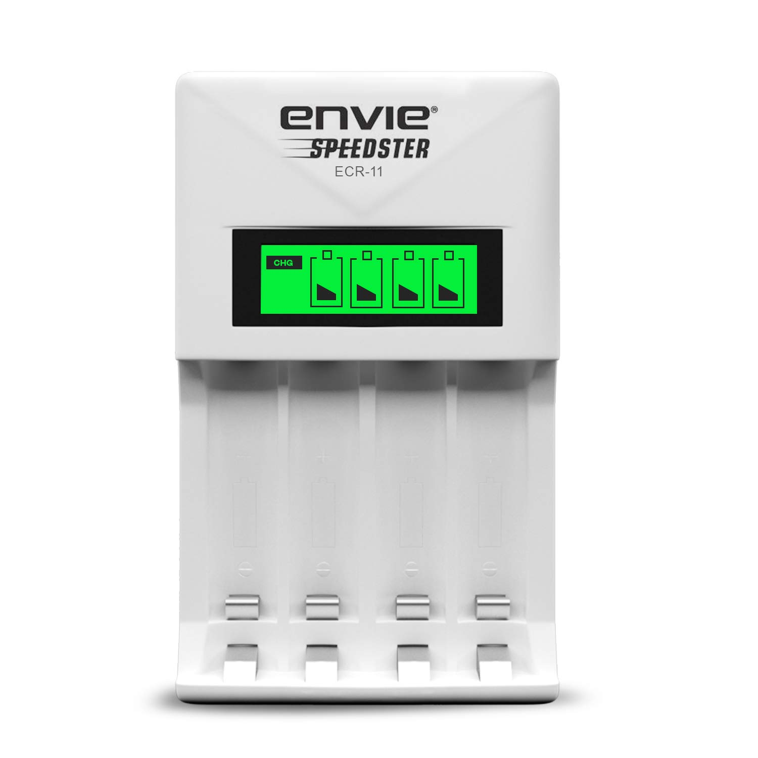ENVIE Charger For AA & AAA Rechargeable Batteries (ECR 11