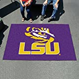 Fanmats Team Support Outdoor Sports Carpet Decorative Accessories Logo Printed Louisiana State Ulti-Mat 60''96''