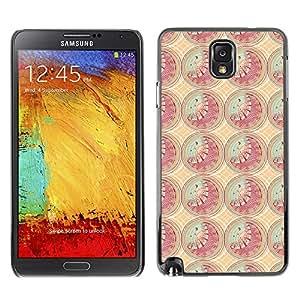 ZECASE Funda Carcasa Tapa Case Cover Para Samsung Galaxy Note 3 N9000 No.0000028