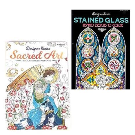 Amazon.com: Adult Religious Coloring Books Gift Set: Arts ...