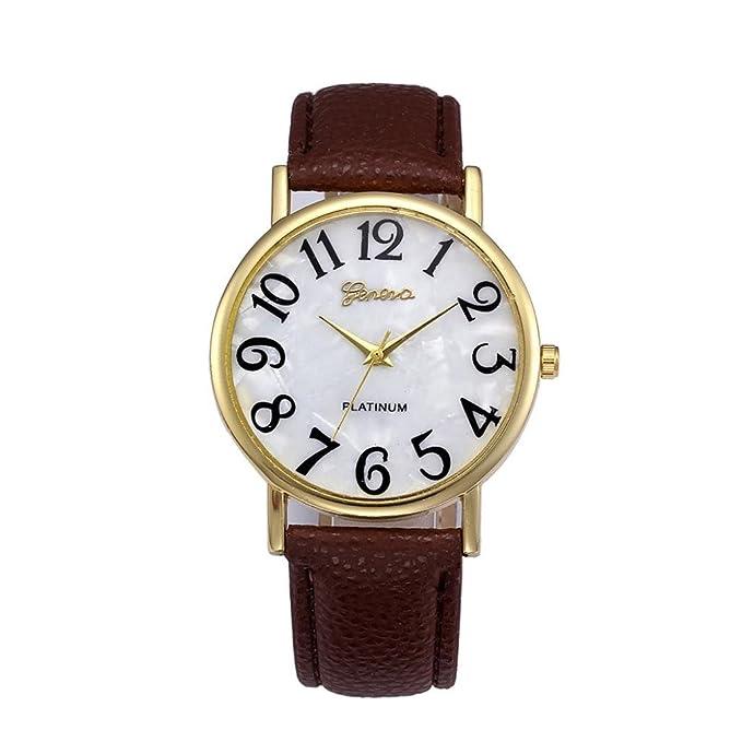 Amazon.com: dressin Hombres Reloj De Cuarzo De La Mujer ...