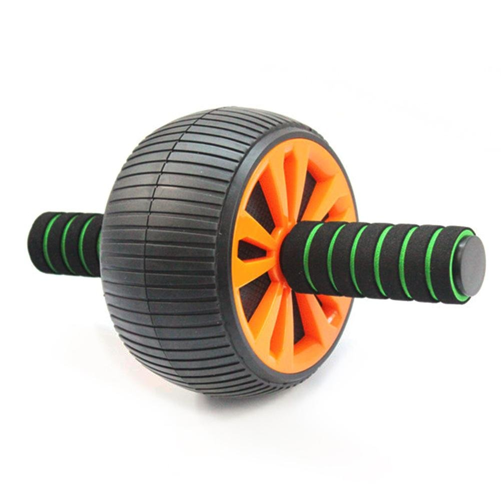 Famtasme Super Wide Stable Ab Wheel Roller Anti-Slip Handles Fitness Workout Gear for Exercise