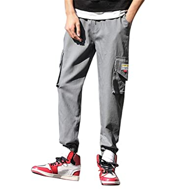 VPASS Pantalones Vaquero para Hombre, Pantalones Casuales Moda ...