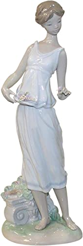 Lladro Flowers for a Goddess Figurine 7709