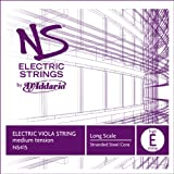 D\'Addario NS Electric Viola Single Low E String, Long Scale, Medium Tension