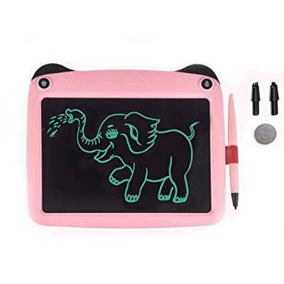 JRD&BS WINL Writing Tablet forBirthday Gift,Kids Toy 9 Inch LCD Writing Tablet Electronic Writings Pads Drawing Board Gifts for Kids Erase Button Lock Included (Pink33): Office Products