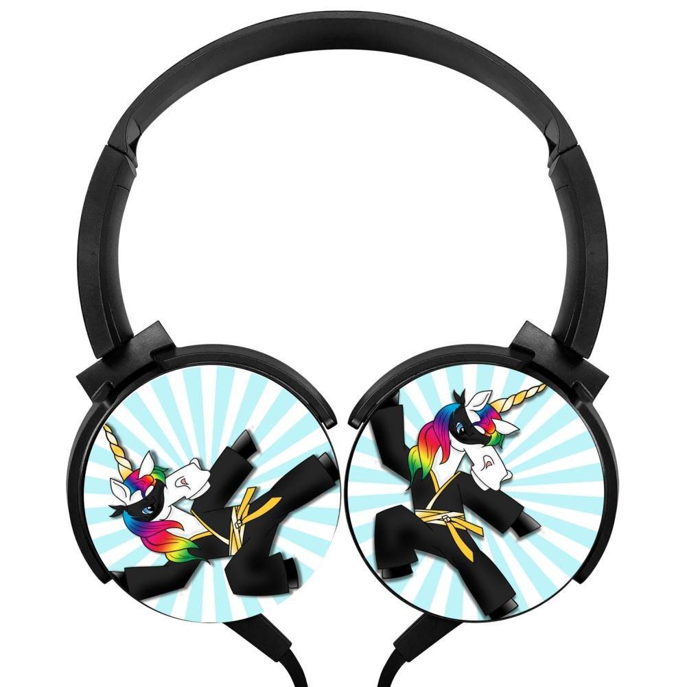Amazon.com: BLTHFun Foldable Stereo Headphone Rainbow ...