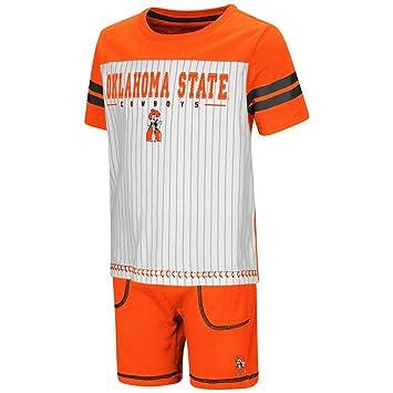 amazon co jp 幼児用oklahoma state cowboysピンストライプteeシャツと