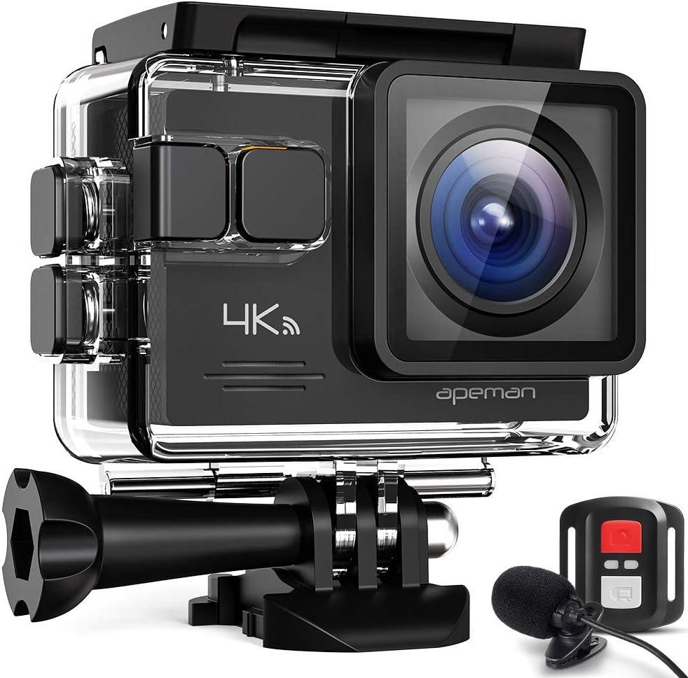 Apeman Portkamera 4k Ultra Hd 20 Mp Wifi Action Kamera Kamera