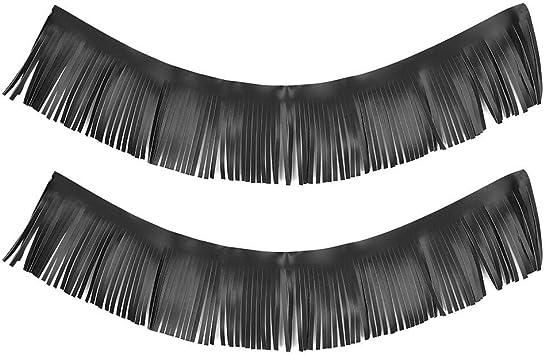 vintage black fringe 13 yards