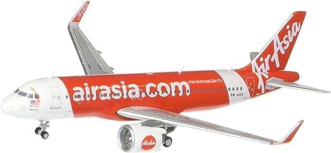 Amazon Com Geminijets Airasia A320neo 9m Aga 1 400 Scale Model