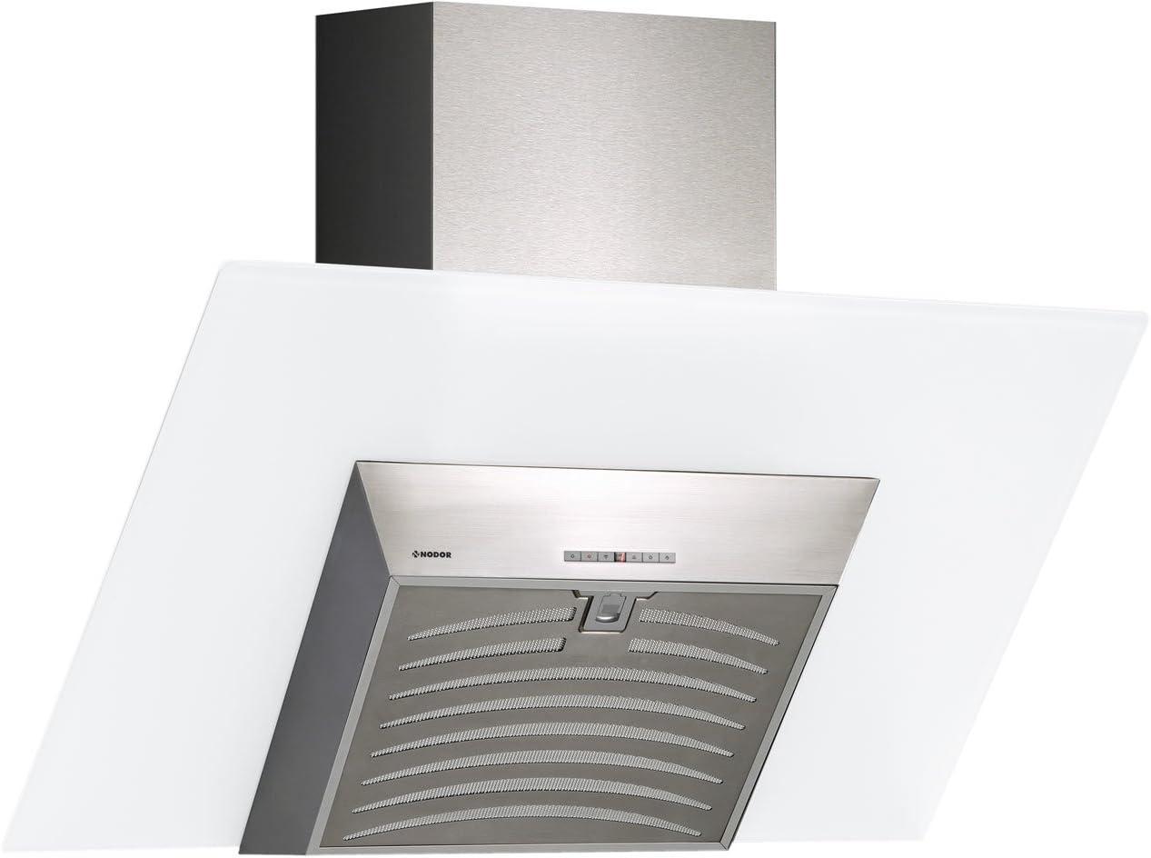 Nodor Serena - Campana (Canalizado, 790 m³/h, 49 Db, Montado en pared, LED, Acero inoxidable, Color blanco): 244.36: Amazon.es: Grandes electrodomésticos