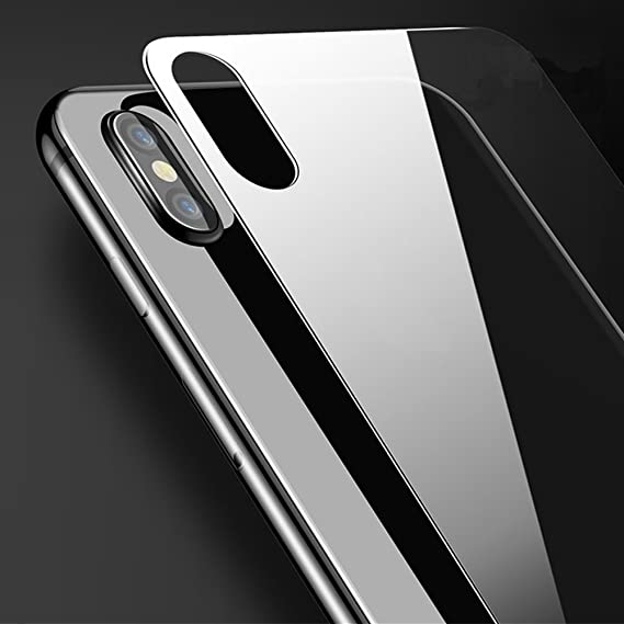 separation shoes 5d2fa 7e5ad [3-Pack] -IPhone X Back Screen Protector 2.5D Ultra Tempered Glass For  iPhone X Back 9H Screen Cover Glass Protective Film For iPhone X Back Glass  ...