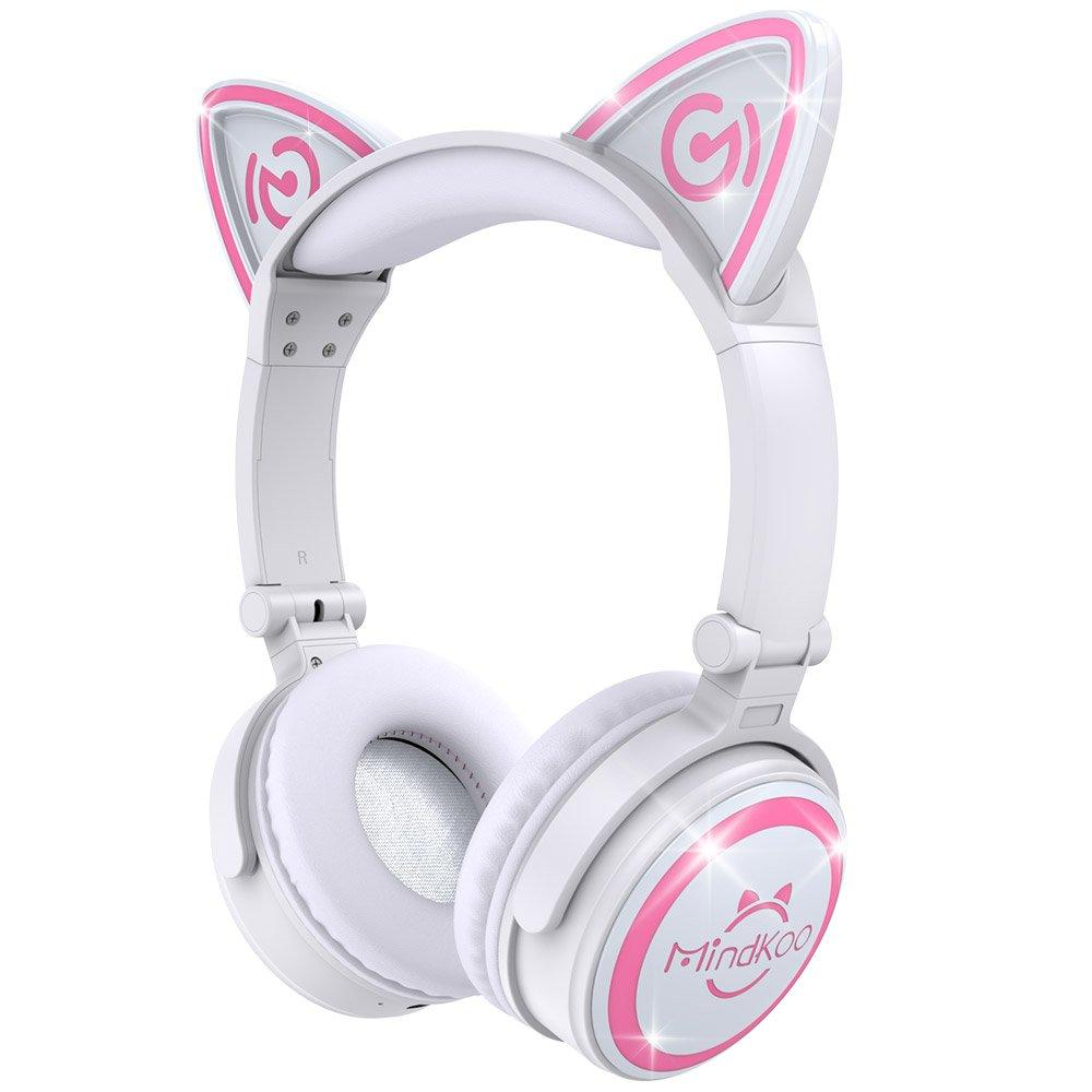 Cat Ear Headphones with LED Light