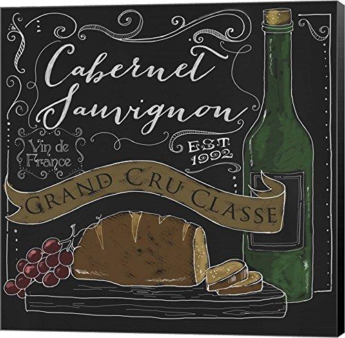Wine Chalkboard II by Fiona Stokes-Gilbert Canvas Art