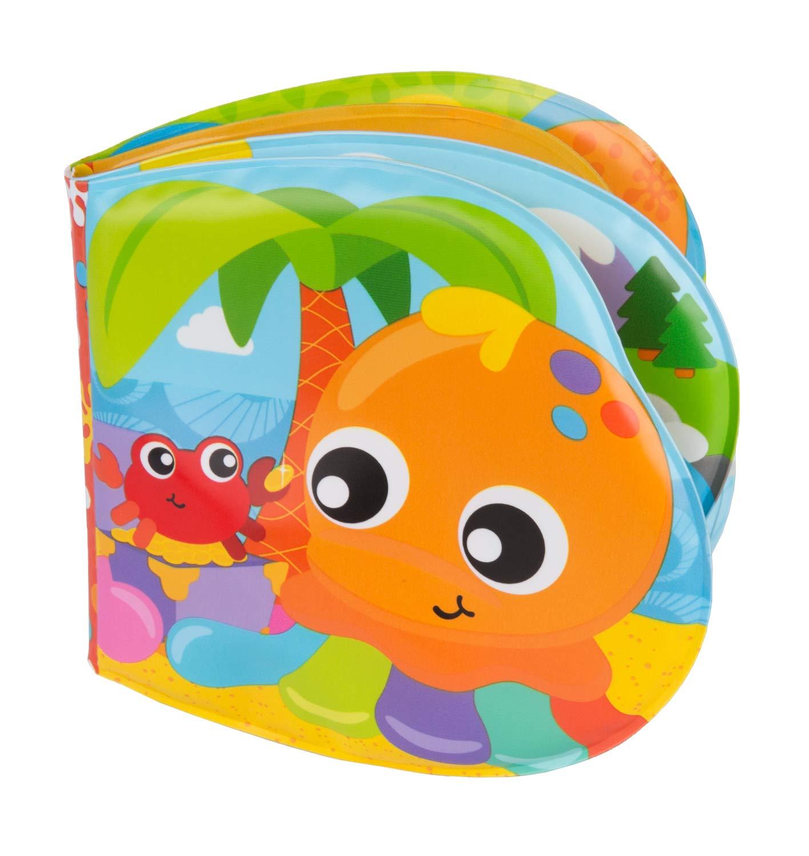 Playgro Balle dActivit/és pour Bain Bath Ball Jaune//Bleu//Rouge Diam/ètre : 10 cm Sans BPA /À partir de 6 Mois 40104