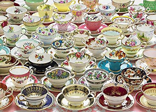Cobble Hill More Teacups Jigsaw Puzzle (1000 Piece)