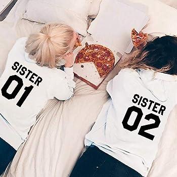 Mejores Amigas Sudaderas Best Friends Sudaderas para Dos Mujer ...