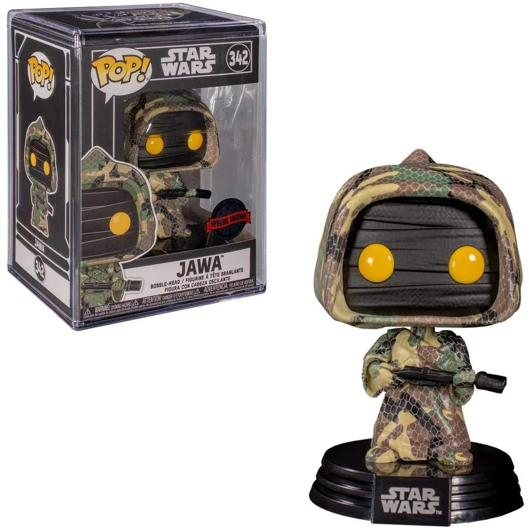 Funko Star Wars Futura Jawa (Camouflage) Shared Exclusive Vinyl Figure #342